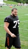 Browns NFL van Joel Bitonio 2016 Opleidingskamp stock afbeelding