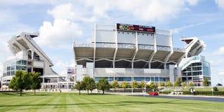 Browns van Cleveland Stadion Stock Afbeeldingen