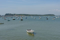 Brownsea island and castle Stock Photography