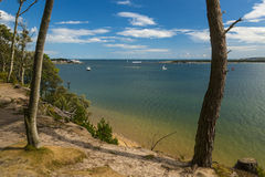 Brownsea Island in Poole Harbour Royalty Free Stock Image