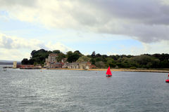 Brownsea Island, Poole. Stock Images