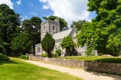 Νησί Brownsea εκκλησιών του ST Mary Στοκ φωτογραφία με δικαίωμα ελεύθερης χρήσης