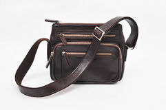 BrownShoulder bag Stock Image