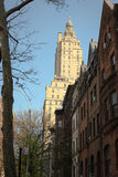Brownstone apartments, Upper West Side, NYC Stock Image
