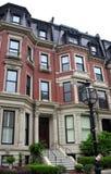 brownstone boston Стоковая Фотография