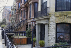 Brownstone Brooklyn, Park Slope row houses Stock Photography