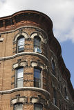 Brownstone Corner Royalty Free Stock Photography