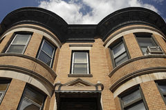 Brownstone de Brooklyn Fotografia de Stock