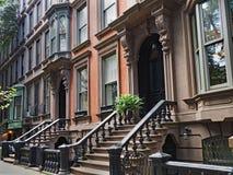 Brownstone de New York imagem de stock royalty free
