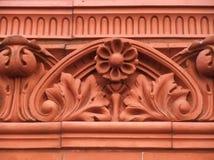 Brownstone Detail Stock Afbeelding