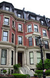 Brownstone di Boston Fotografia Stock