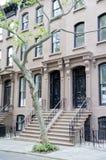 Brownstone di Brooklyn immagine stock libera da diritti