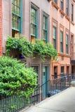 Brownstone di New York fotografia stock libera da diritti