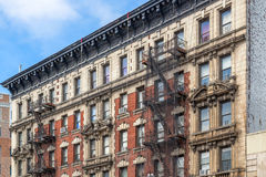 Brownstone Homes Stock Photography