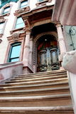 Brownstone stairs Stock Image
