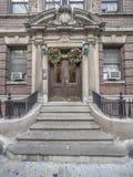 Brownstone on upper east Side of Manhattan Stock Image