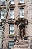 Brownstone van Brooklyn Royalty-vrije Stock Afbeeldingen