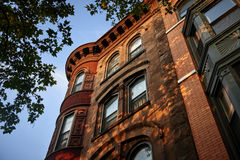 Brownstones Stock Image