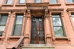 Brownstones di Harlem - New York Fotografia Stock Libera da Diritti