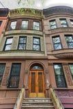 Brownstones di Harlem - New York Immagini Stock Libere da Diritti