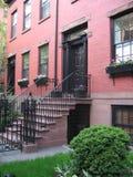 Brownstones van Brooklyn Royalty-vrije Stock Foto