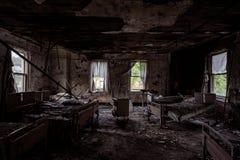 Brownsville-Allgemeinkrankenhaus - Brownsville, Pennsylvania stockfotografie