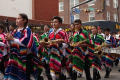 Grand International Parade. Brownsville, Texas, USA - February 25, 2017, Grand International Parade is part of the Charro Days Fiesta - Fiestas Mexicanas, A bi Royalty Free Stock Photography