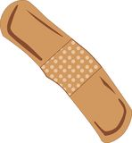 Browny Band-Aid Stock Image