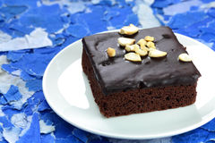 Browny cake. Royalty Free Stock Photography
