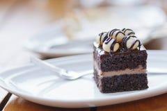 Browny-Kuchen Stockfoto