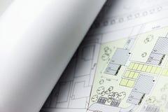 Browse through architectonic portfolio Royalty Free Stock Image