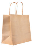 Browse recycled paper bag Stock Photography