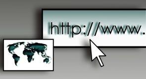 Browser bar Stock Photo