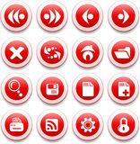 Browser icons Stock Image