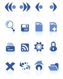 Browser icons Royalty Free Stock Photography