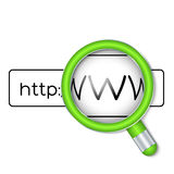 Browser Search Royalty Free Stock Image