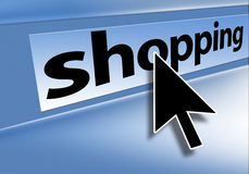 Browser shopping Stock Images