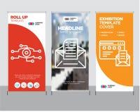 Browser und Post, E-Mail, Analyse rollen oben Lizenzfreie Stockbilder