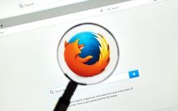 Browser van het Firefoxweb Royalty-vrije Stock Fotografie