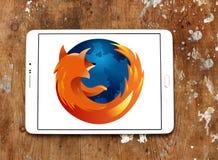 Browser van het Firefoxweb embleem Royalty-vrije Stock Foto's