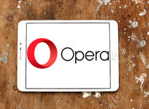 Browser van het operaweb embleem Royalty-vrije Stock Fotografie