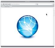 Browser van het Web Royalty-vrije Stock Afbeeldingen