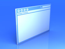 Browser Window Royalty Free Stock Image