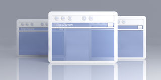 Browser Windows Stock Photos