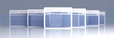 Browser Windows Stock Images