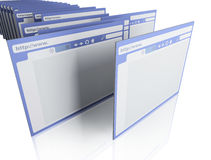 Browsers Stock Photo
