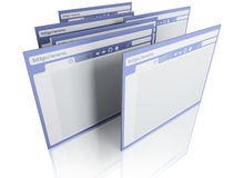 Browsers Royalty Free Stock Image