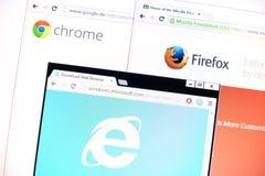 browsers Fotos de Stock Royalty Free