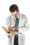 Browsing doctor Stock Image