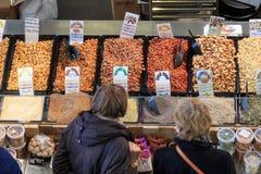 Browsing food Royalty Free Stock Image